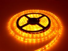 3528 SMD YELLOW LED Strip Light 5 m Long (60 LED/M)